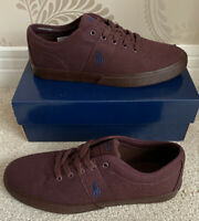 BNIB MENS POLO RALPH LAUREN HALFORD-NE-SK-VLC SHOES/TRAINERS/SNEAKERS UK 11 (45)