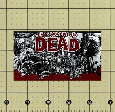 CUSTOM MADE REFRIGERATOR MAGNET THE WALKING DEAD COMIC ART ZOMBIE GORE