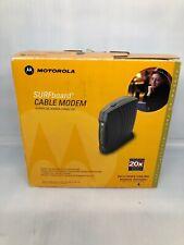 Motorola SURFboard SB5120 Cable Modem, Complete Sealed