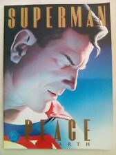 Superman : Peace on Earth - Alex Ross - RARE - NEAR MINT CONDITION