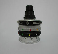 #564 Gehmann Rearsight Iris, 48 possible colors combination and single Polariser