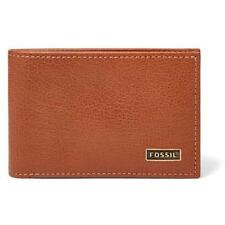 Fossil Leather Bifold Wallets for Men