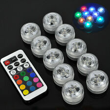 10W RGB LED Pool lighting show lamp underwater decorative light + Remote control