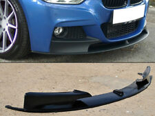 BMW F30 F31 Front bumper spoiler splitter M performance style  for M-Tech bumper