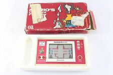 Nintendo Game & Watch Mario's Cement Factory Fully Tested Boxed MW-102
