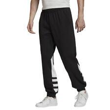 Adidas Originals Pantalone da Uomo Big Trefoil Nero Codice FM3756 - 9M