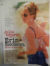 ERIN BROCKOVICH LARGE FRENCH MOVIE  47 by 63 POSTER JULIA ROBERTS 2000