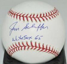 Jimmie Schaffer 1965 Chicago White Sox Autographed Major League Baseball COA