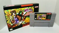 Jojo's Bizarre Adventure - English SNES NTSC Translation US/CA