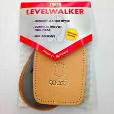 Tacco 634 Level Walker Leather Heel Cushions Latex  Insoles Shoe Lifts Back Pads