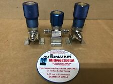 LOT OF 3 FLOWLINK 955557 955559 962998 1/4 IN MVCR REGULATOR VALVE SHIPSAMEDAY