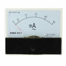 44L1-A Rectangle Panel AC 50mA Analog Meter Ammeter