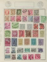 5 Pages of Austria Stamps from different Stamp Albums