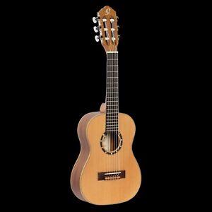 ORTEGA Family Series R122-1/4-L Konzertgitarre 1/4 Lefty Natur Zeder