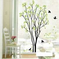Family Tree Birds DIY Removable Art Vinyl Wall Stickers Decal Mural Home Decor
