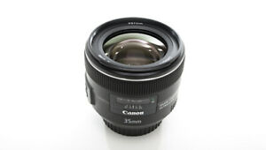 Canon EF 35 mm f/2.0 IS USM Wide Angle camera Lens + Filter with Box