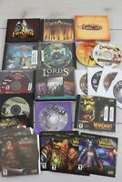 Lot World of Warcraft EverQuest CD Rom PC Computer Games Fantasy Role Playing