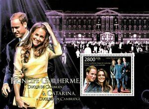 Guinea-Bissau 2011 - Prince William and Kate Middleton - Souvenir Sheet - MNH