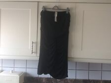 Ladies size 18 black body on drape detail bandeaux dress from store twenty one