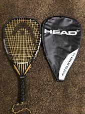 """Head Intellegence Intellifiber i.165 Racquetball Racquet 3 5/8"""" Grip"""