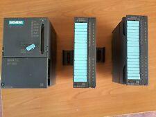 Siemens S7 300 Cpu 314 + SM 321 + SM 322 (6ES7 314 1AE03-0AB0   ) PLC SPS AUTOMA