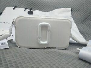 HOT Brand MARC JACOBS Snapshot Small Camera Bag MOON WHITE bag sales