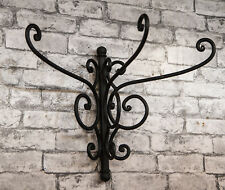 QUALITY METAL COAT HOOK WALL MOUNTED HAT STAND IN SOLID HANDMADE STEEL