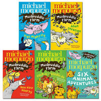 Mudpuddle Farm Series by Michael Morpurgo Collection 5 Books Set Pack Brand NEW