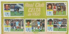 LOTE 12 CROMOS CELTA de VIGO ESTE liga 82-83