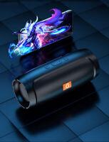 Waterproof Bluetooth Speaker Wireless Outdoor Stereo Bass USB/TF/FM Radio LOUD