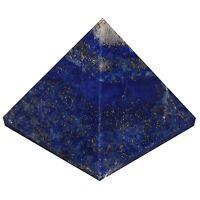 Lapis Lazuli Gemstone Pyramid Energy Generator Reiki Healing Crystal Spiritual