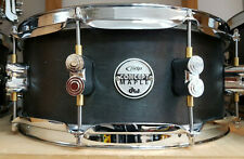 """DW PDP Snare Pdsn5514bwcr 14 X 5 5"""" Snaredrum Black Wax"""