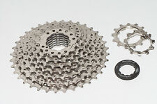 Sunrace CSM989 M9 9-Speed Cassette 11-36T MTB 11/36T Bicycle Nickel/Black