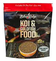 COOL WATER WHEAT FORMULA KOI FOOD from Blue Ridge for live koi & goldfish NDK