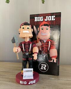 "OTTAWA REDBLACKS ""Big Joe"" Canadian Football League CFL Mascot Bobblehead NIB!"