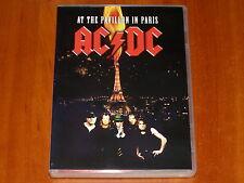AC/DC DVD LIVE AT THE PAVILLON IN PARIS FRANCE DECEMBER 1979 RARE CONCERT New