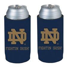 Notre Dame Fighting Irish  2 Pack Ultra Slim Can Holder - Skinny Koozie