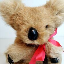 NEW Koala Bear Australia Hard Stuffed Animal Toy Outback Souvenir Aus Aussie