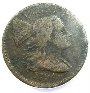1794 Liberty Cap Large Cent 1C S-65 - Certified ANACS VG8 Details - Rare Coin!