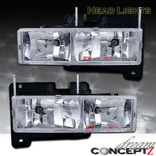 1988-1999 CHEVY GMC C/K1500 TAHOE SUBURBAN HEADLIGHTS COMPOSITE ONLY