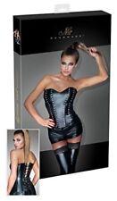 Capi d'abbigliamento intimo erotico da donna neri Orion in metallo