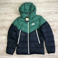 NIKE NSW WINDRUNNER DOWN FILL HOODED PUFFER JACKET SIZE S SMALL 928833 362