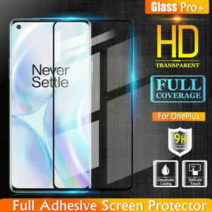 For OnePlus 8 / 8 Pro Glass Pro+ Full Coverage Tempered Glass Screen Protector