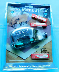 Dexter mat board cutter for picture frames sealed mint in clamshell pack