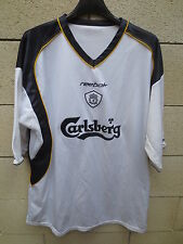 VINTAGE Maillot LIVERPOOL shirt REEBOK away blanc Carlsberg football XL