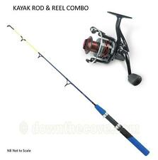 Zebco 1m King Kayak Rod & Zcast FD Reel Combo boat, holiday -  FREE FEDEX 24 HR