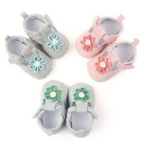 Newborn Baby Girl Crib Pram Shoes Kids Soft Sole Anti Slip Walkers Sneaker AU