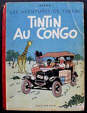 TINTIN/ TINTIN AU CONGO/ Edition originale B 1/ 1946/ Etat correct
