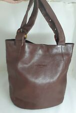 Renoma Paris Seoul Genuine Leather Large Tote Bag