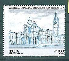 ITALIA Repubblica : Varieta' - POLIRONE 2007 0.60 Cents - DENTELLATURA SPOSTATA